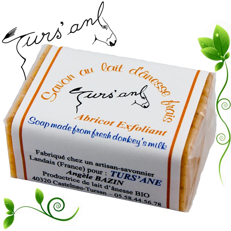 Turs'ane-savon abricot exfoliants