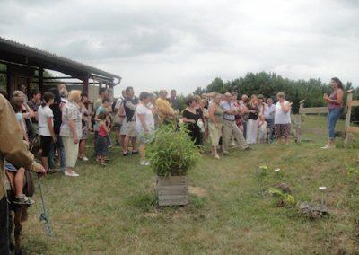 Jeudi  16  Août   10h45 et 17h15 – Prochaines visites à la ferme