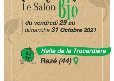 TURS'ANE au Salon bio NATURA de Rezé (La Trocardière)     les 29, 30 et 31 Octobre 2021