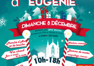 Marché de Noël à Eugénie les Bains le Dimanche 8 Décembre 2019