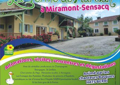 La Fête à la FERME DE MARSAN ! 1 et 2 Septembre 2018 à Miramont Sensacq (Landes)