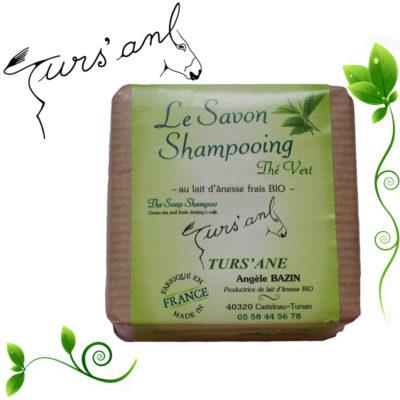 Turs'ane -Le savon shampoing Thé Vert