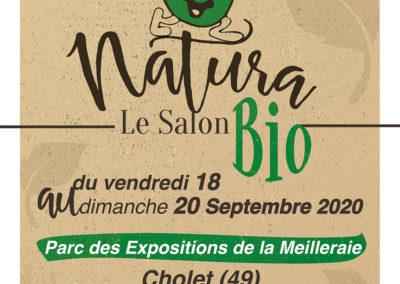 Salon Bio NATURA de CHOLET, contactez-moi si vous souhaitez des INVITATIONS.